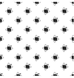 Virtual cube pattern vector
