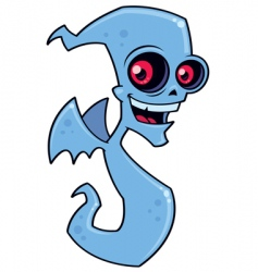 ghost demon vector image vector image