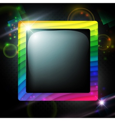 multicolored frame vector image vector image