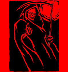 red death vector image vector image