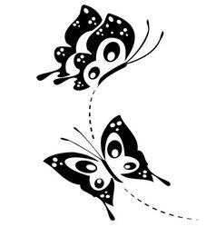 butterflies 2 vector image