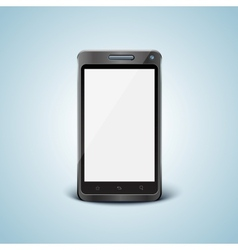 cellphone with blank screen vector image