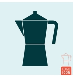 Coffee maker icon vector image