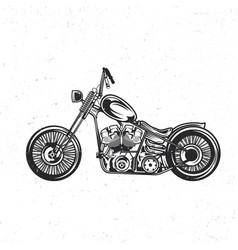 custom bike vector image