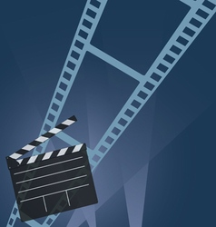Film tape movie vector