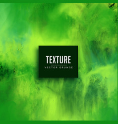 Green watercolor texture effect background vector