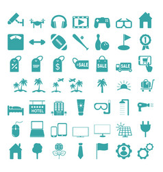icons set icons for graphic and web design vector image