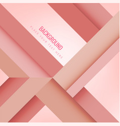 modern geometric composition pink background vector image