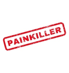 Painkiller Rubber Stamp vector