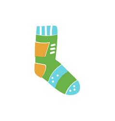 sport sock vector image