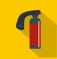 Gas cylinder icon flat style vector