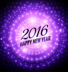 2016 happy new year beautiful greeting vector image
