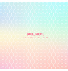 abstract colorful honeycomb pink background vector image