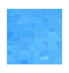 Blue Mosaic Abstract Low Polygon Background vector
