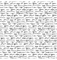 Handwriting background seamless pattern grunge vector