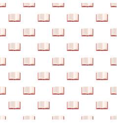 Open book pattern vector