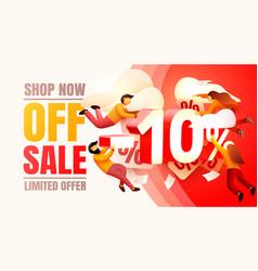 Shop now off sale 10 interest discount limited vector