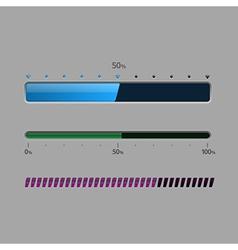Status bar vector image
