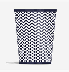 Wire holder basket office organizer box vector