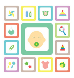 icon for baby vector image