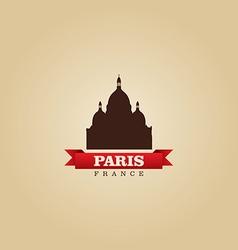 Paris France city symbol vector image vector image