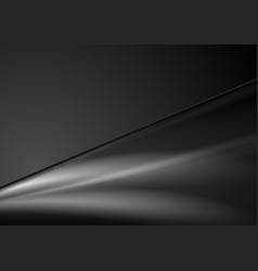 Abstract black smooth gradients background vector