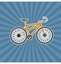 Bike and cycling related icons image vector
