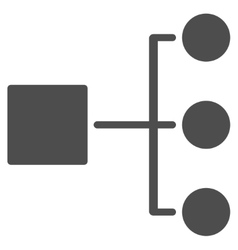 Diagram Icon from Commerce Set vector