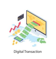 Digital transaction vector