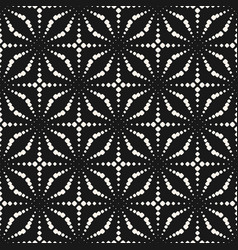 dotted pattern ornamental pattern floral texture vector image