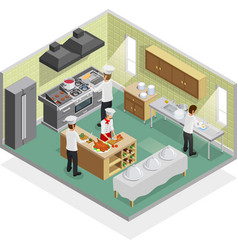 Restaurant Kitchen Concept vector
