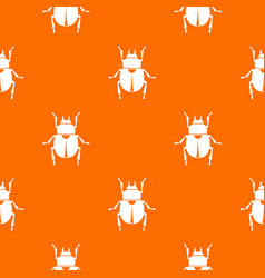 Scarab pattern seamless vector