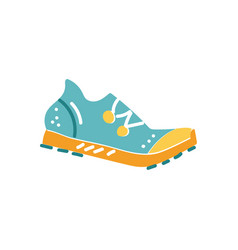 spike running shoe vector image