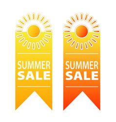 summer sale banner design stock vector image