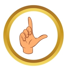 Touch screen hand gestures icon vector