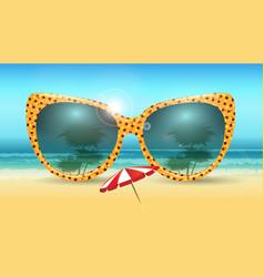 Vacation summer concept vector