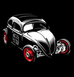 vintage car 33 vector image