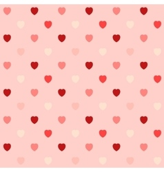 Heart Seamless vector image vector image