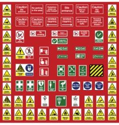 Signs vector