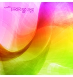 Colorful abstract background futuristic vector image