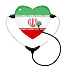 medicine iran vector image vector image