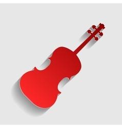 Violine sign vector image vector image
