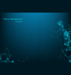 Abstract background futuristic polygonal style vector