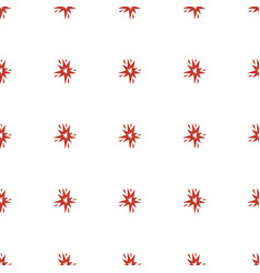 Explode icon pattern seamless white background vector