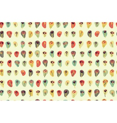 floral pattern colorful vector image