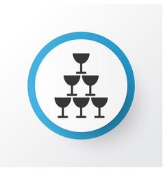glasses icon symbol premium quality isolated vector image
