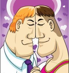 homosexuals vector image