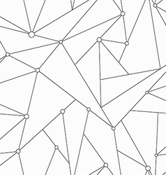 monochrome technology triangle seamless texture vector image