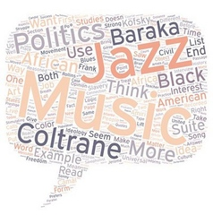 Music and Politics text background wordcloud vector