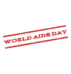 World AIDS Day Watermark Stamp vector